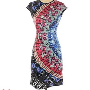Clover Canyon colorful patterned dress